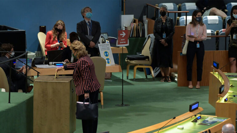 General Assembly Holds Elections for Non-Permanent Members of Security Council